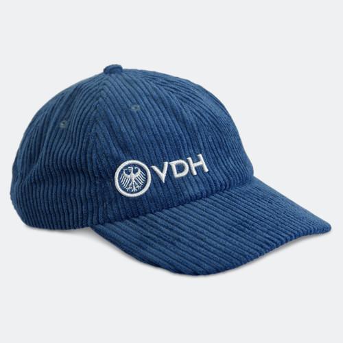 Limited Edition VDH Indigo Blue Thick Corduroy Dad Hat