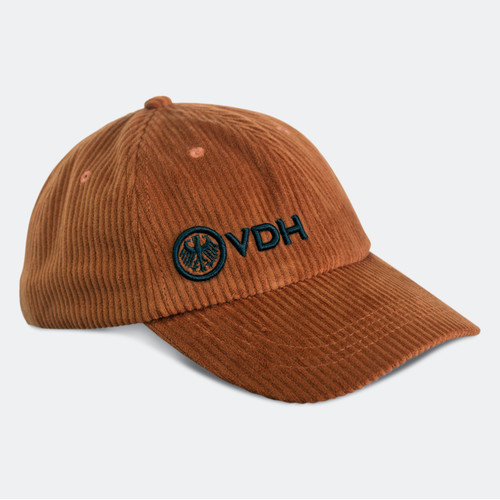 Limited Edition VDH Rust Thick Corduroy Dad Hat