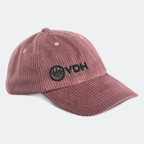 Limited Edition VDH Dusty Rose Thick Corduroy Dad Hat