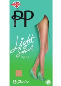 Pretty Polly 15 Denier Light Support Tights