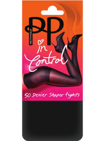 Pretty Polly Pretty Polly In Control 50 Denier Shaper Tights