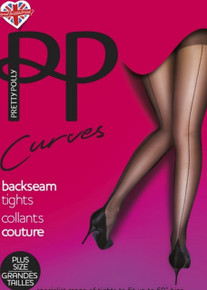 Pretty Polly Pretty Polly Curves Backseam Tights