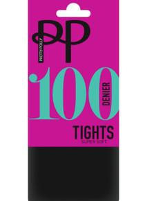 Pretty Polly Pretty Polly Supersoft 100 Denier Opaque Tights