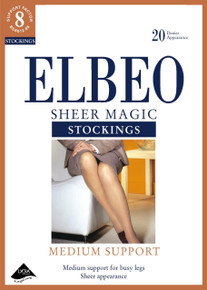 Elbeo Elbeo 20D Sheer Magic Medium Support Stockings