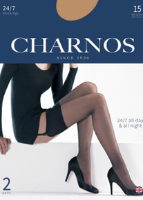 Charnos Charnos 24/7 15 Denier Stockings 2 Pair Pack