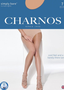 Charnos Charnos Simply Bare 7 Denier No Toes Tights