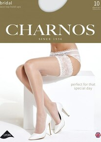 Charnos Charnos Bridal 10 Denier Lace Top Hold Up