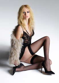 Jonathan Aston Jonathan Aston Vintage Legs Backseam and Heel Hold Ups