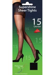 Pretty Legs Pretty Legs 15 Denier Supershine Tights
