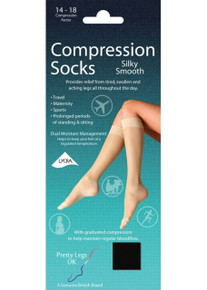 Pretty Legs Pretty Legs Silky Smooth Compression Socks