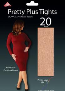 Pretty Legs Pretty Legs Luxury 20 Denier Pretty Plus Xceptionelle Tights
