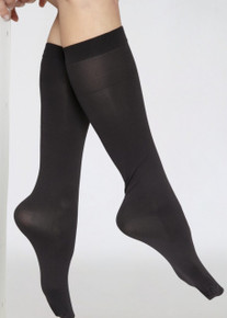 Andrea Bucci Andrea Bucci Extra Wide Comfort Top 60D Opaque Knee Highs
