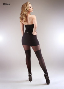 Miss Naughty Miss Naughty Over The Knee Crotchless Tights