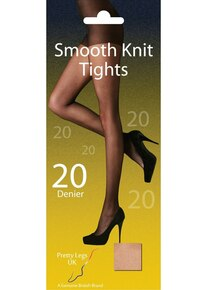 Pretty Legs Pretty Legs 20 Denier Smooth Knit Tights