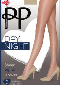 Pretty Polly Pretty Polly Day to Night 15 Denier Sheer Tights 3 Per Pack