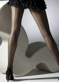 Gipsy Gipsy French Heeled Seamed Tights