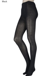 ELLE ELLE Ribbed Bamboo Tights