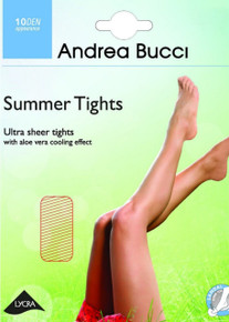 Andrea Bucci Andrea Bucci 10 Denier Summer Tights with Aloe Vera