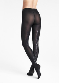 Wolford Wolford Snake Shimmer Back Seam Tights