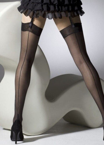 Gipsy Gipsy Cuban Heel and Seam Stocking