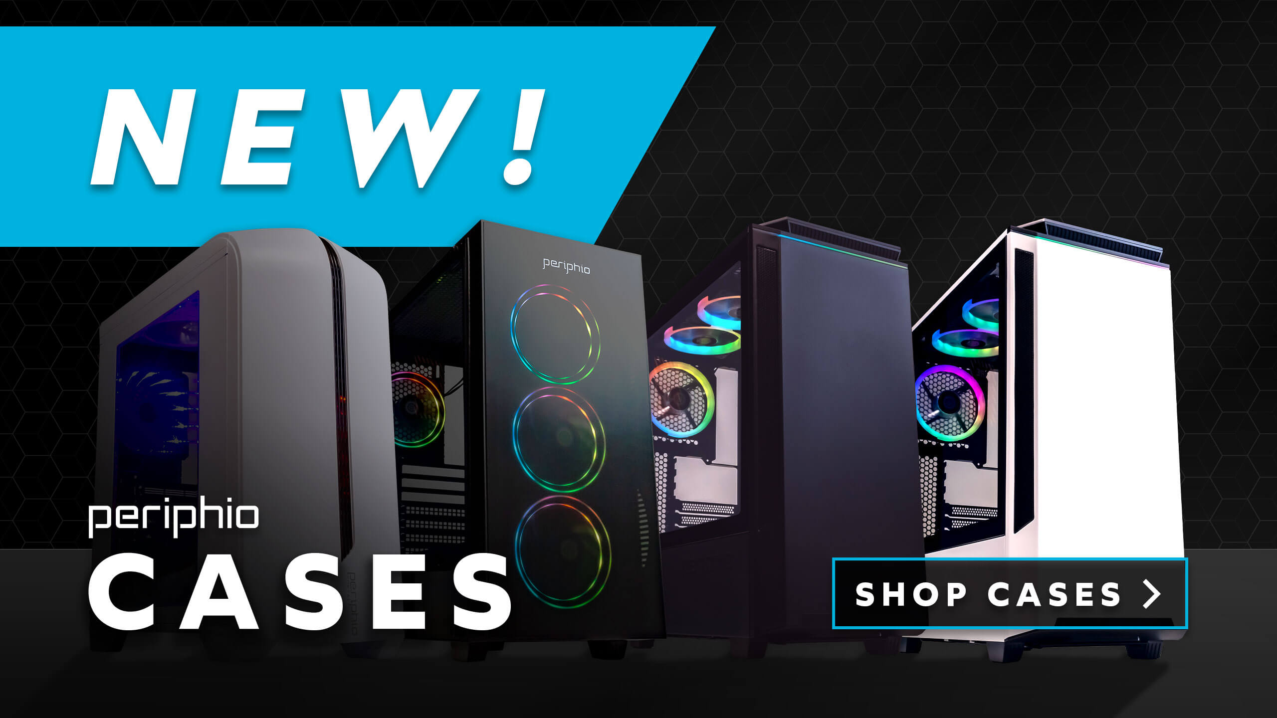 Periphio Gaming Cases Now Available