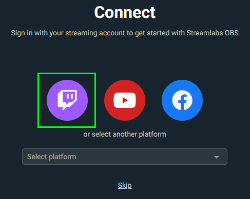 Connect Twitch