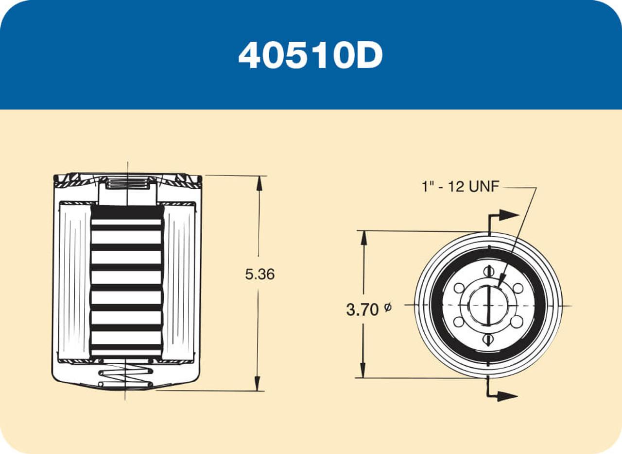 10 Micron Gas Advantage Petro-Clear 40510W-AD Champion Filter