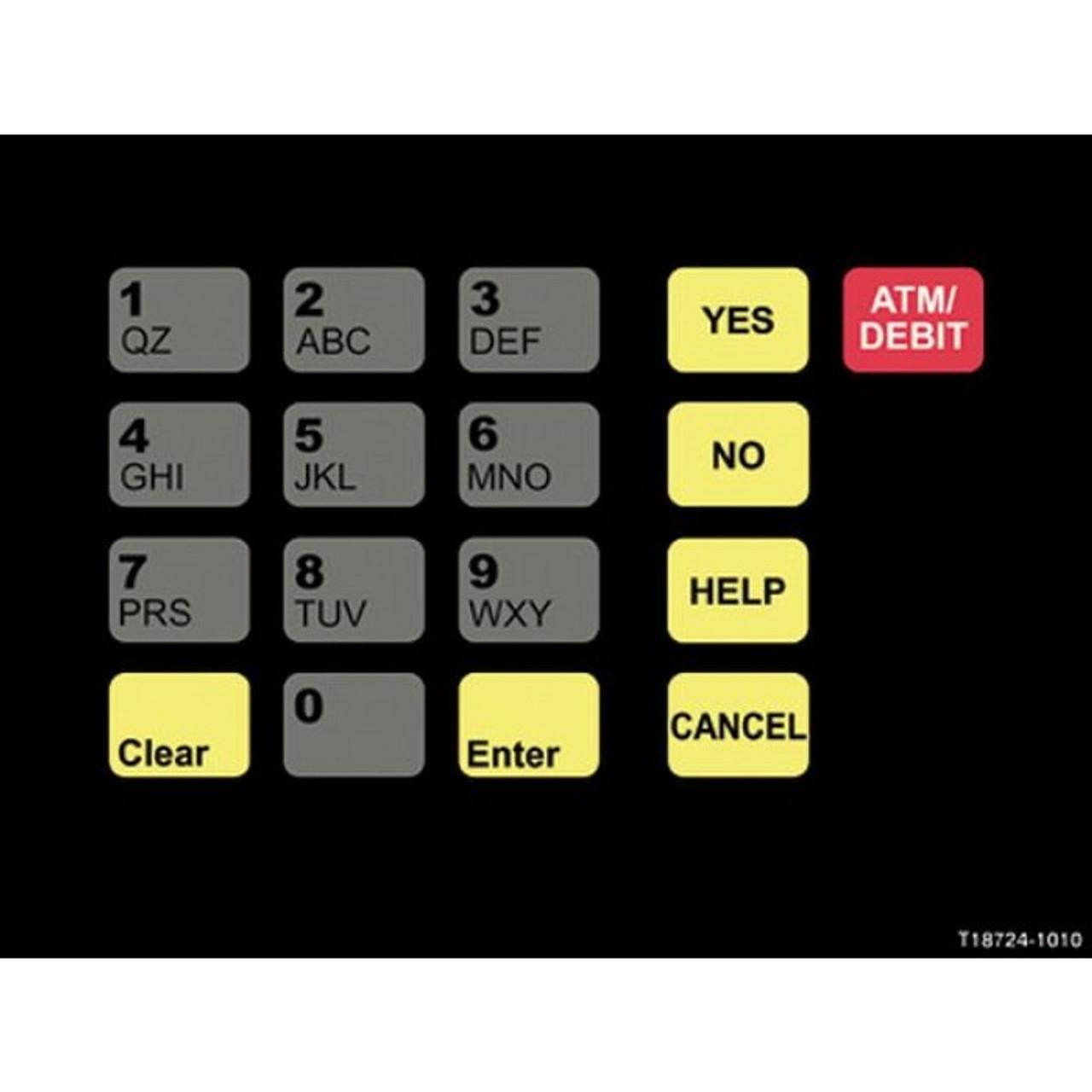T18724-1010 - Unocal Crind Keypad Overlay