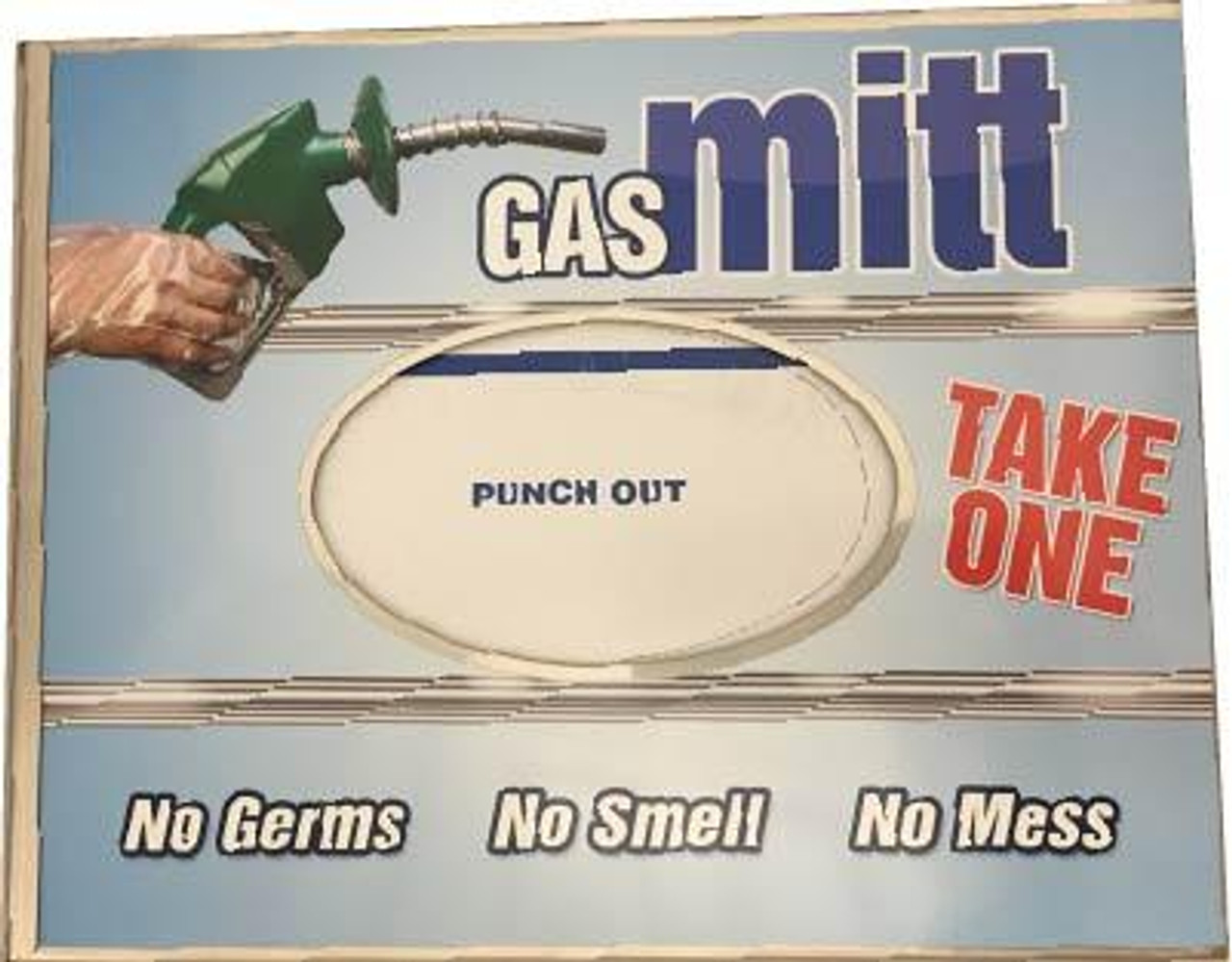MDK-0K - Gas / Diesel Mitts Kit with Dispenser