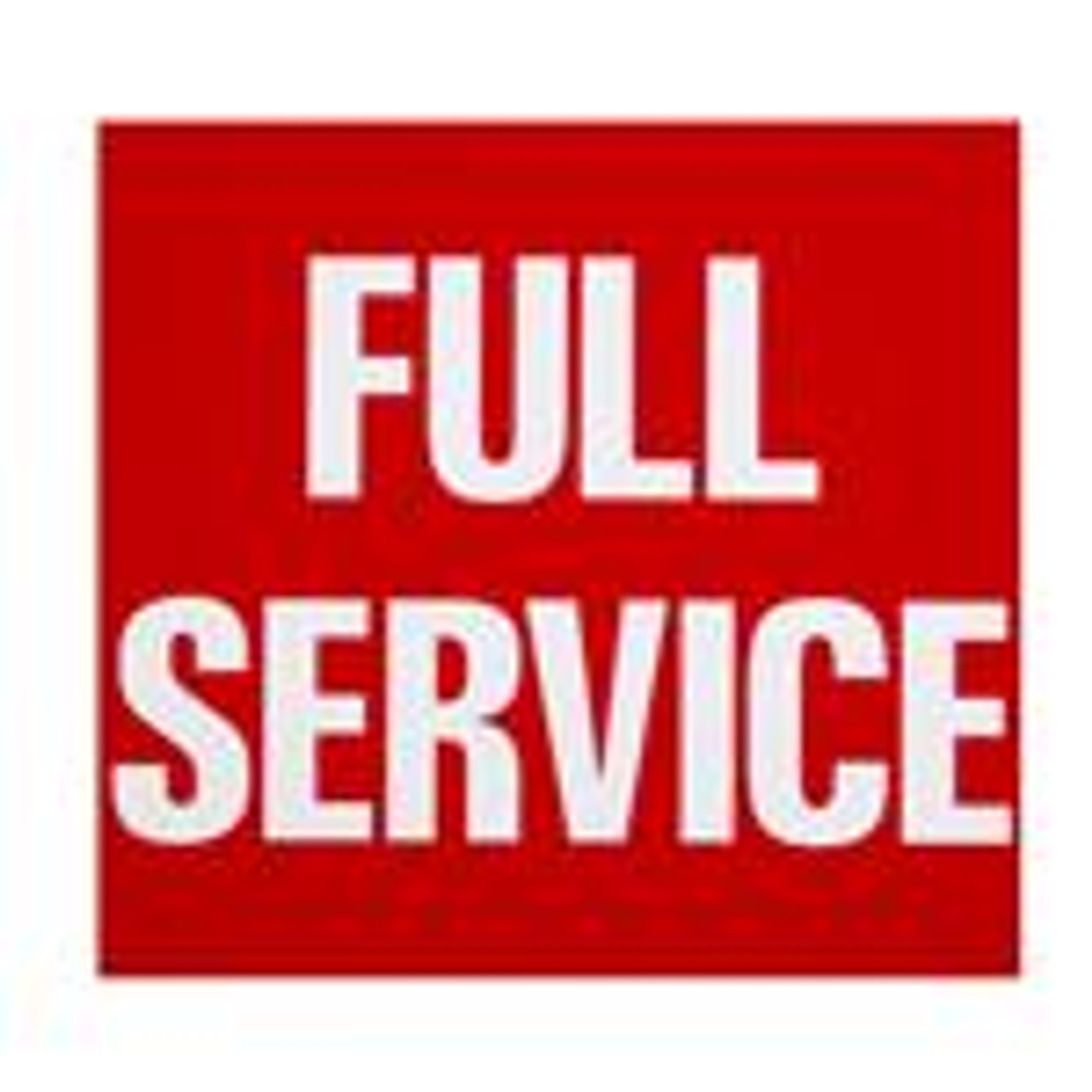 797401 - Vue-T-Fuel Sign Insert Double Sided Self Service/Full Service
