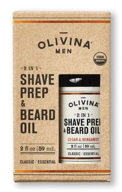 Shave Prep & Beard Oil Cedar and Bergamot 1oz