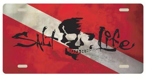 Skull Flag-Red
