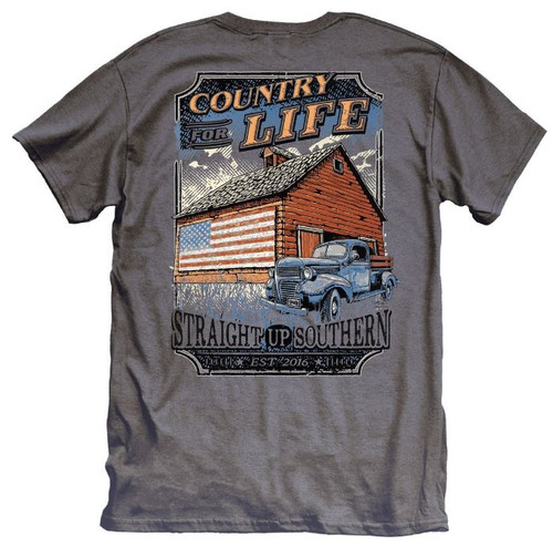 Country For Life-Charcoal