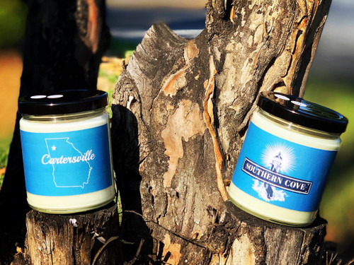 Amazing 100% Soy candles will fill your home with incredible smell good awesomness!