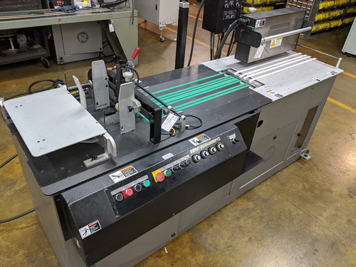 Used Kirk-Rudy 215 Inkjet Base and Dryer