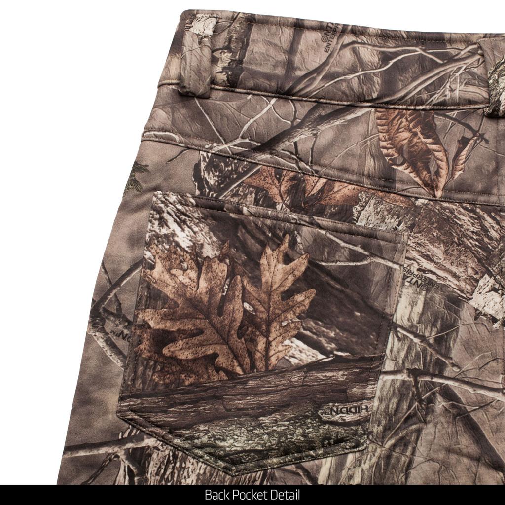 Hidd'n® Pattern Pants - Cargo pocket detail.