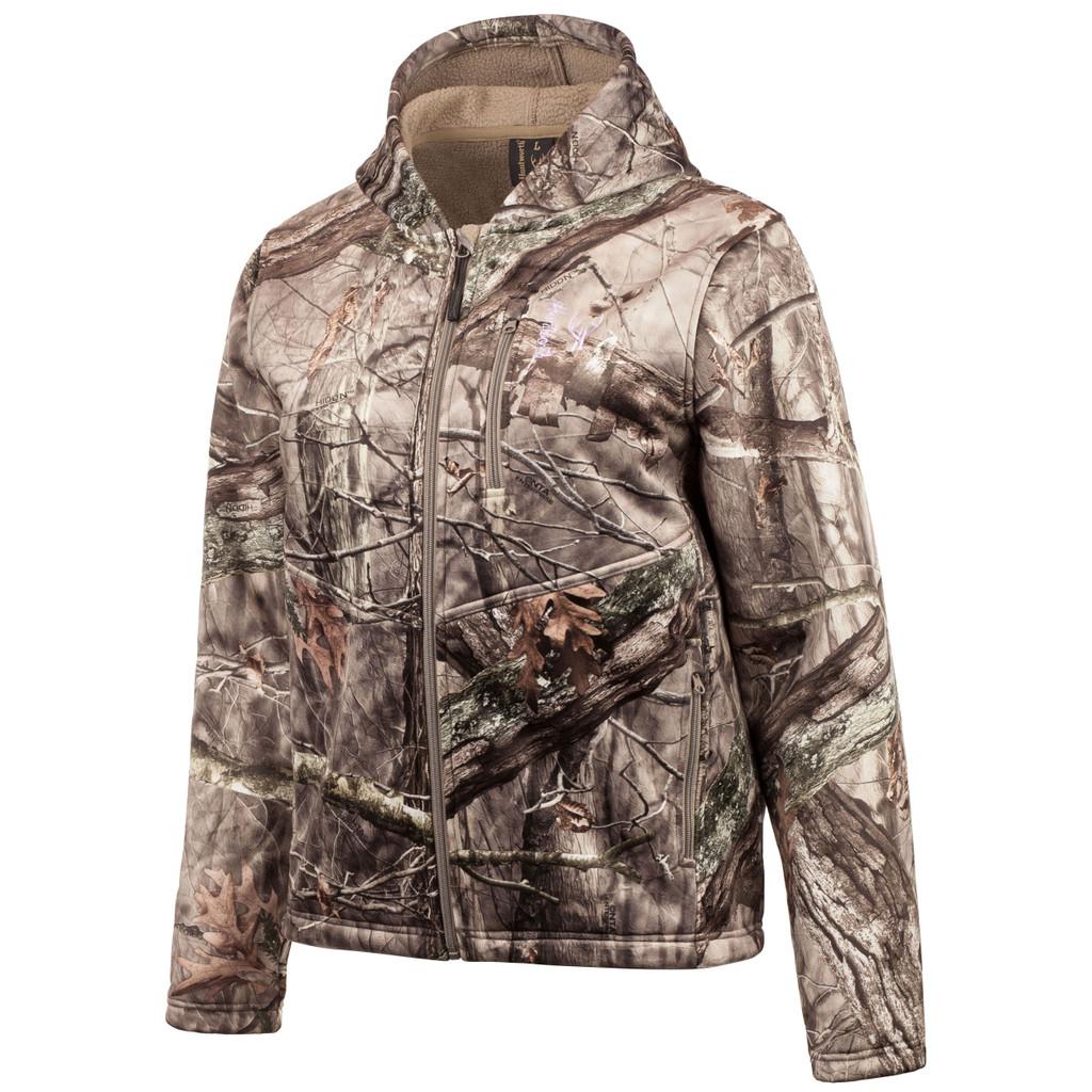 women's Hidd'n® pattern Heavy Weight Windproof Jacket.