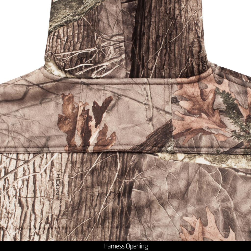 Hidd'n® pattern Jacket - Harness opening.