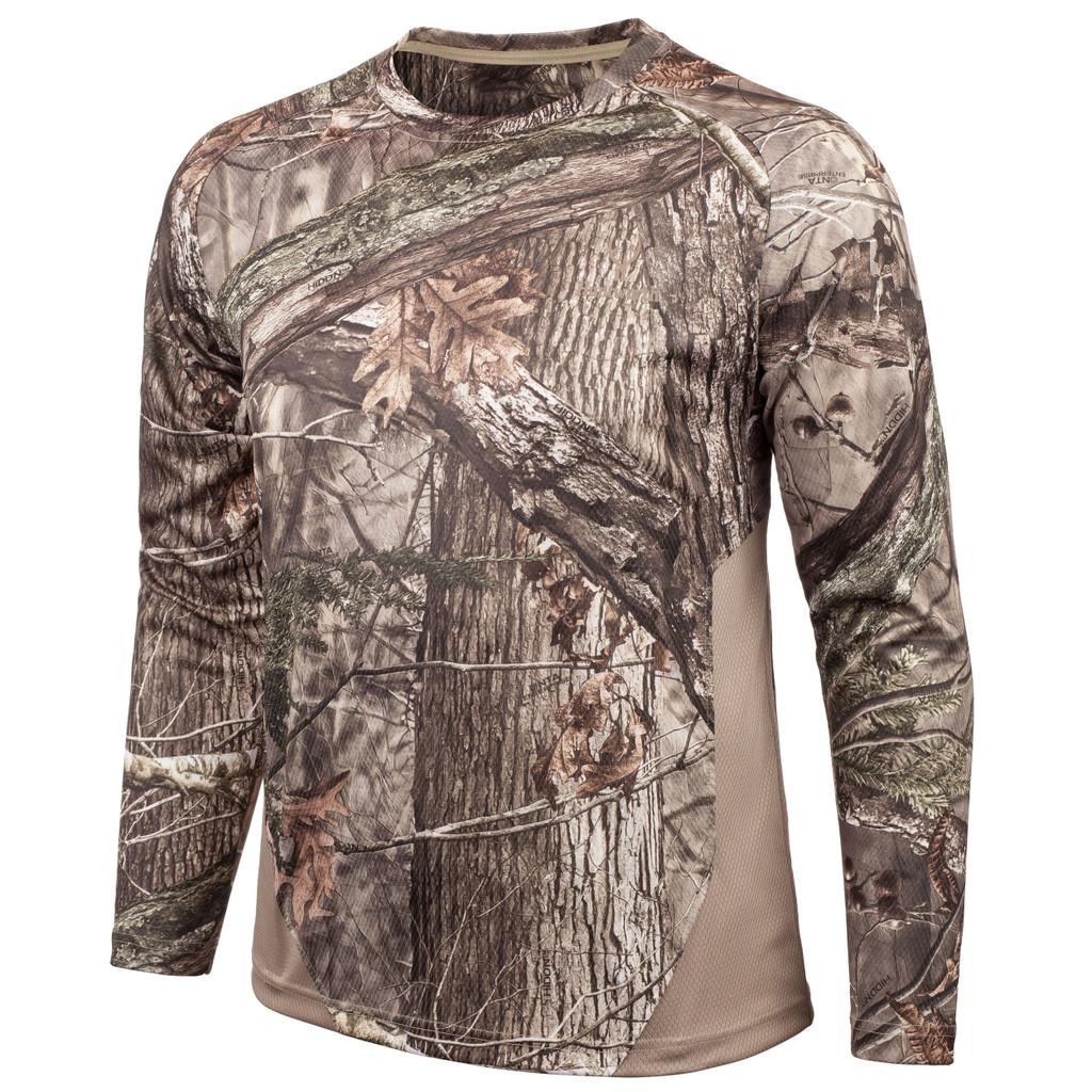 Men's Hidd'n® pattern Light Weight Hunting Long Sleeve Shirt.