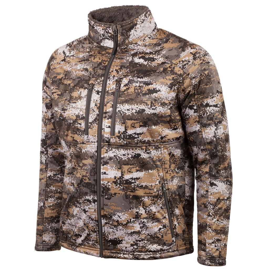 Men's Disruption® pattern heavyweight hunting jacket.