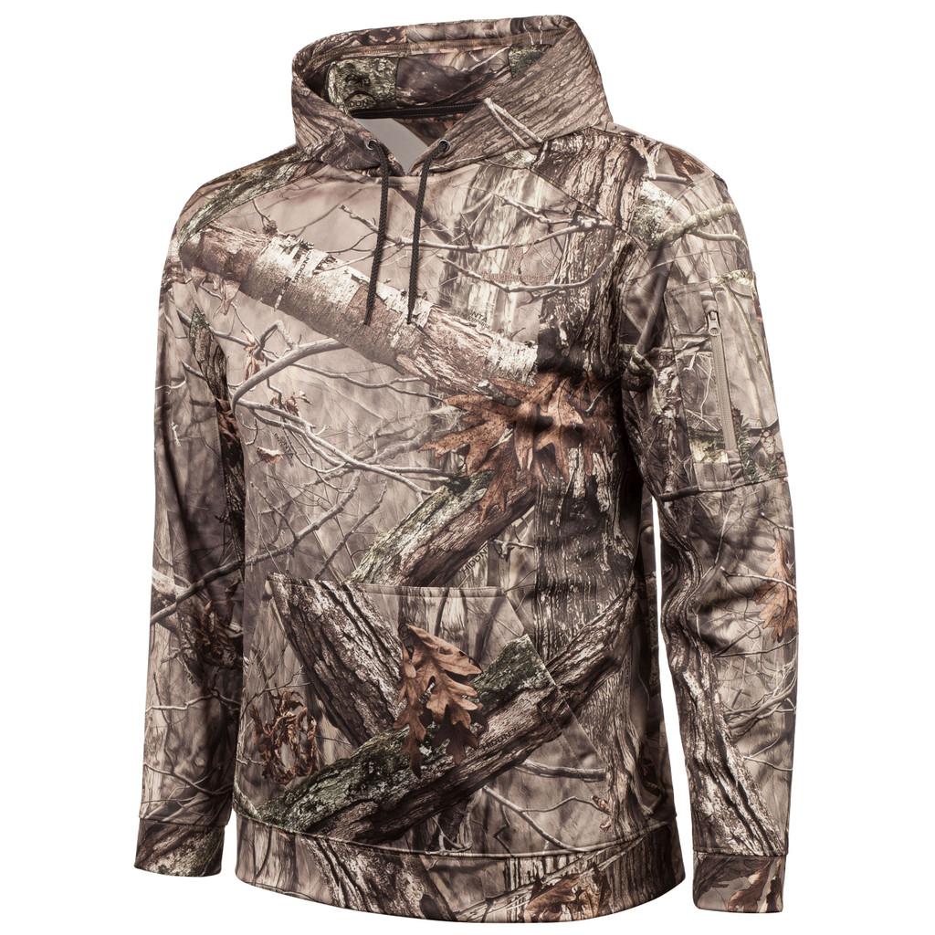 Men's Hidd'n® pattern midweight Hunting Hoodie.