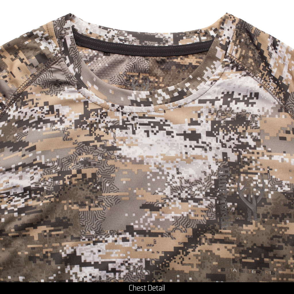 Light Weight Hunting Shirt - Chest detail.