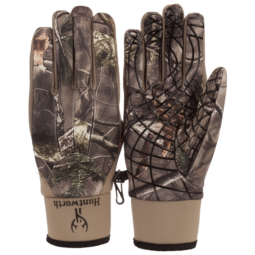 Men's Hidd'n® pattern midweight Windproof Hunting Gloves.