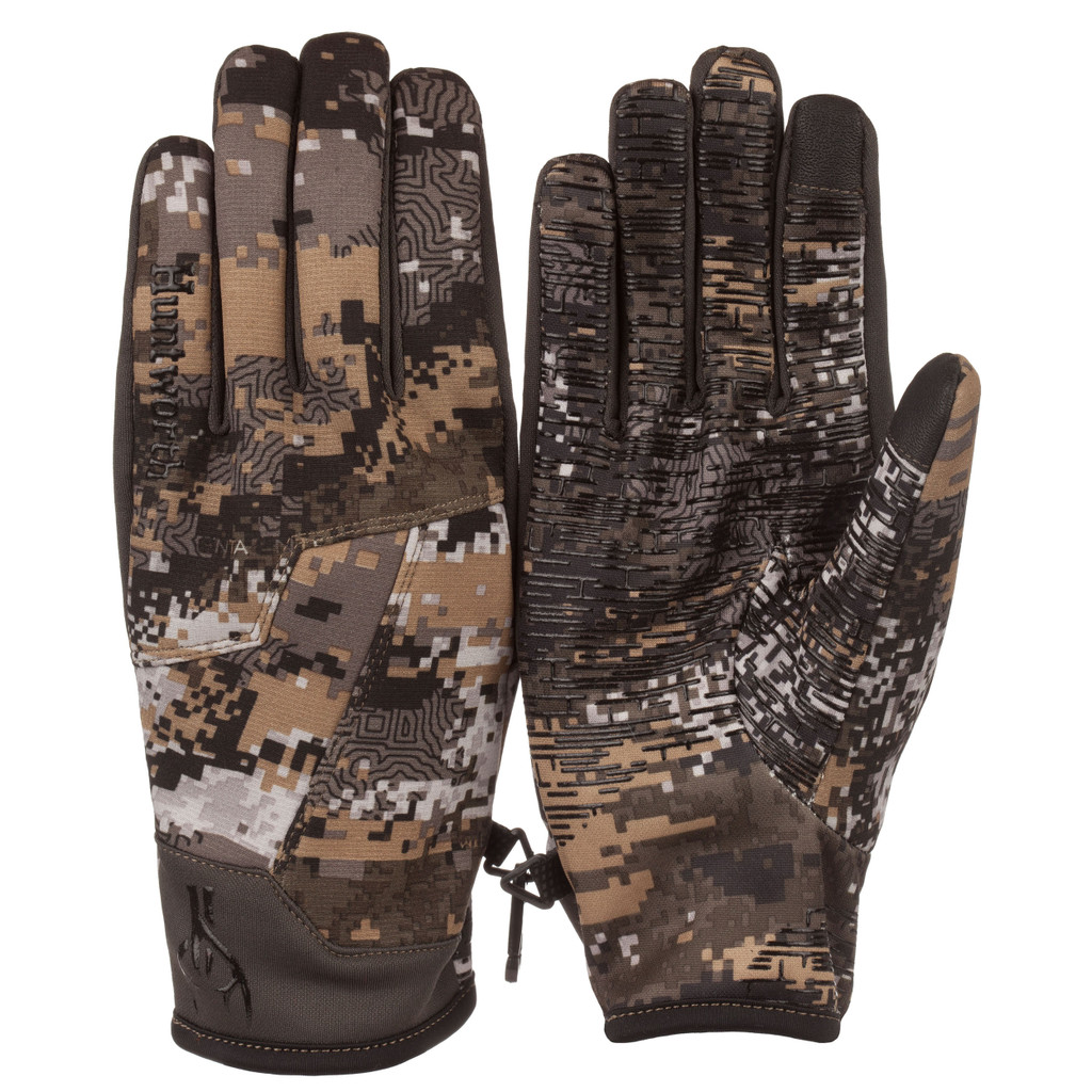 Men's Disruption® pattern lightweight Windproof Hunting Gloves.