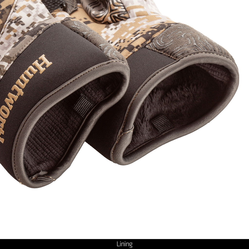 Disruption® hunting gloves - Long pile fleece lined.