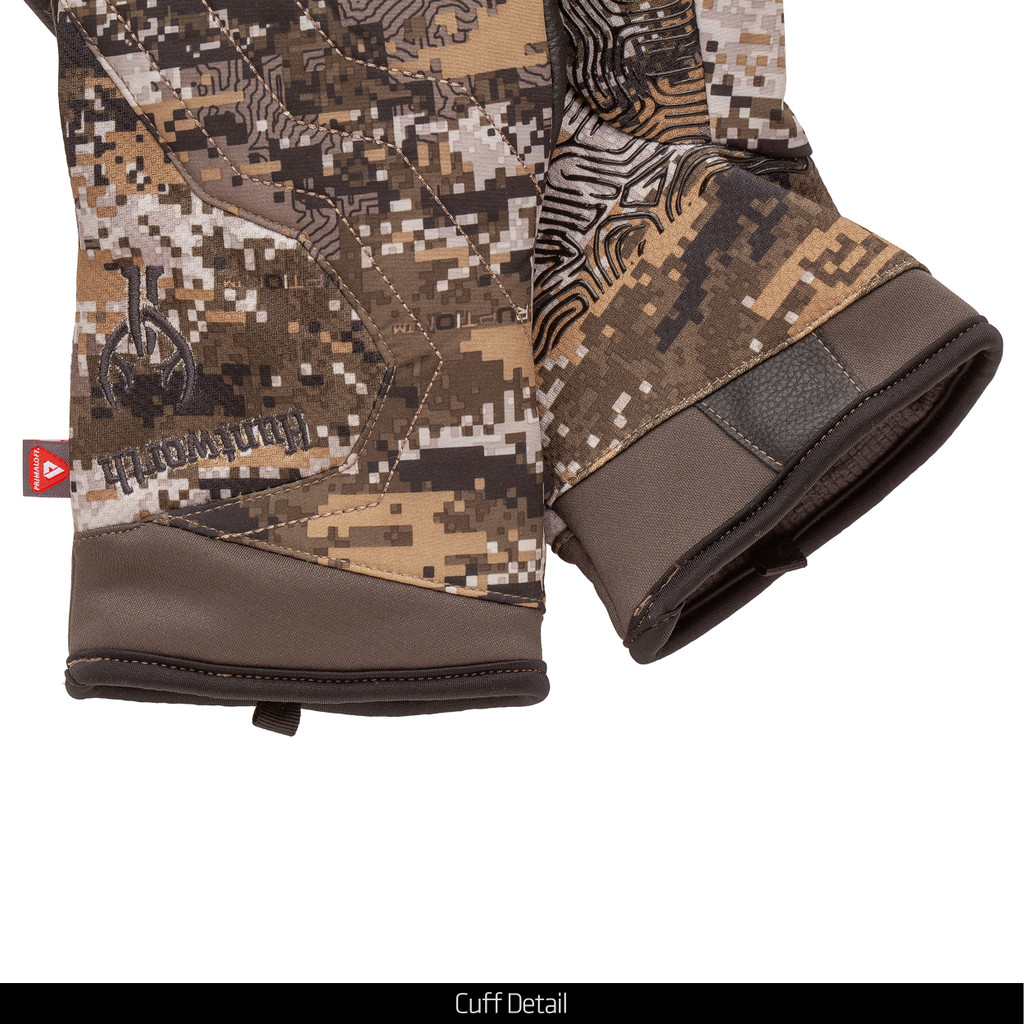 Disruption® pattern Gloves - Cuff detail.