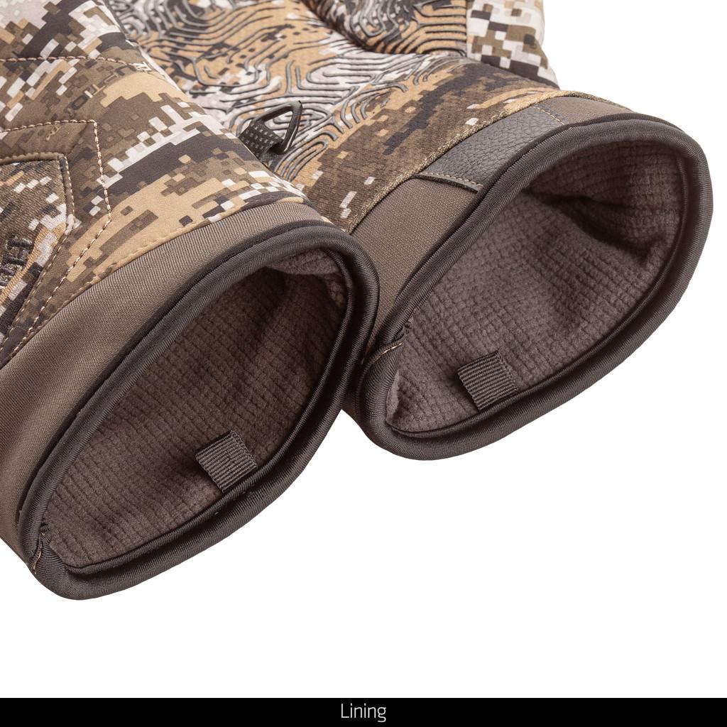 Heavyweight Disruption® pattern Camo Gloves - Lining.