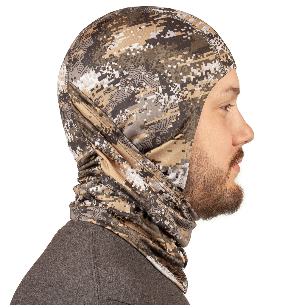 Disruption® Lightweight Face Mask - Full coverage of head.