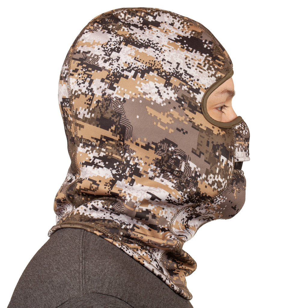 Disruption® pattern Hunting Balaclava - Lined with soft fleece along face front.