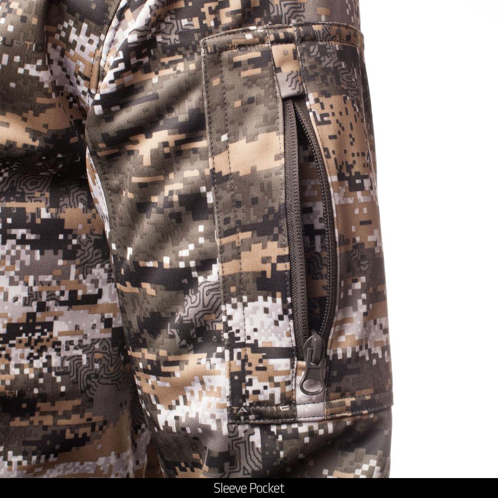 Disruption® pattern hunting Pullover - Sleeve pocket.